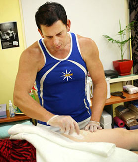Andrew Thompson performing Mens Waxing at Reef Rockhampton